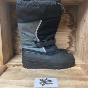 LL bean thermal winter black grey boots shoes
